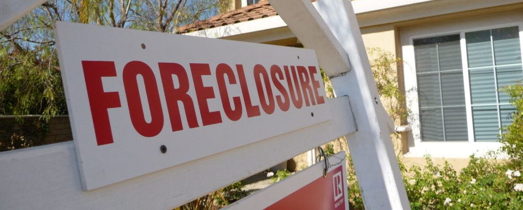 end foreclosure worries